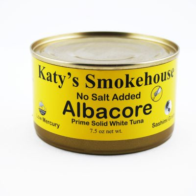1 Can  No Salt Albacore