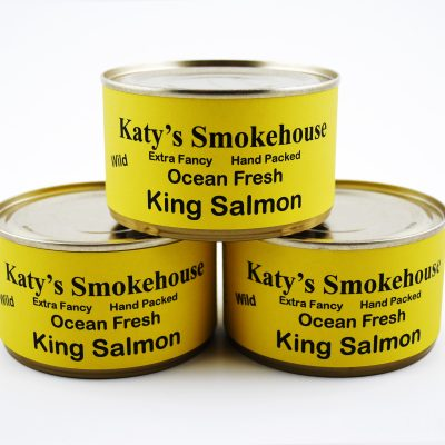 Fresh Wild King Salmon Canned
