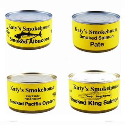 Smoked Seafood Canned
